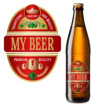 Personalized Beer Bottle